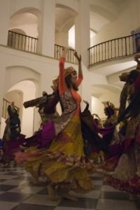 סדנת ריקודים צועניים עם רנה מילגרום מצ'כיה - rena milgrom